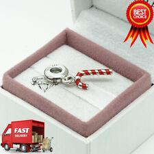 Pandora, Candy Cane, Christmas, Pendant, Charm 791193EN09
