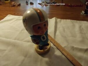Vintage 1975 Miami Dolphins NFL Bobble Head Nodder Sports Specialties Corp