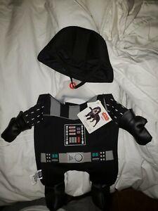 New Petco Star Wars Darth Vader Illusion Costume for Dogs Sized Medium