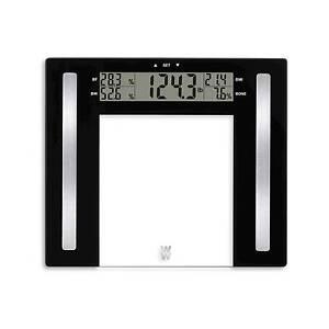 Conair Weight Watchers BMI Glass Scale Body Fat Water Bone Mass 4 User WW711XF