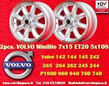 2 Cerchi Volvo  100, 200, 700, 900 7x15 5x108  N.2 Wheels Felgen Llantas Jantes