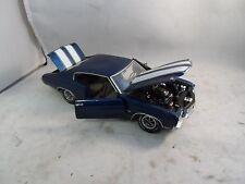 Franklin Mint 1:24 Scale Die Cast 1970 Chevrolet Chevelle SS Model Car + COA