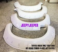 OFF ROAD TOYOTA HILUX MK7 Series II SR SR5 Fender Flares Wheel Arch 2012 2013 14