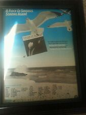 A Flock Of Seagulls The Story Of A Young Heart Rare Promo Poster Ad Framed!