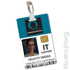 Queen Consolidated IT Support  - Felicity Smoak - Novelty ID Inspired By Arrow