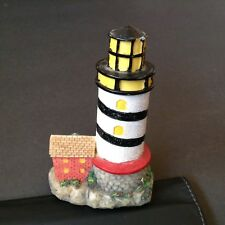 Nautical Lighthouse and cottage Figurine- K collection, .Aquariums Unknown name