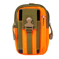 Custodia borsa cintura ARANCIONE VERDE per Apple iPhone 8 e 8 Plus Q8I0