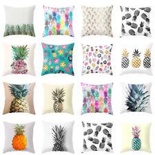 Pineapple Tropical Fruit Throw Cushion Cover Pillow Case Sofa Home Decor Eyeful