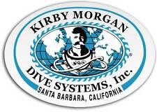 Kirby Morgan KMDSI Large Oval Sticker