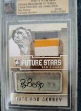 12-13 ITG Ultimate**BEN BISHOP**02/24 Future Stars patch AUTOGRAPH(DALLAS STARS)