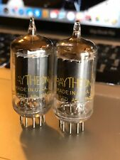 Pair (2) Raytheon 5686 Vacuum Tubes ~ TEST STRONG