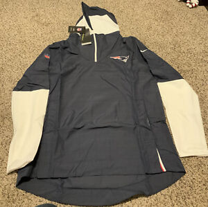New England Patriots Nike Sideline Repel 2020 Jacket Pullover Men's Sz:  Large