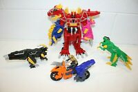 Power Rangers Dino Charge LOT!! Megazord, Raptor Zord, Para Zord NO CHARGERS!