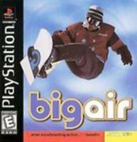 Big Air Playstation 1 Game PS1 Used