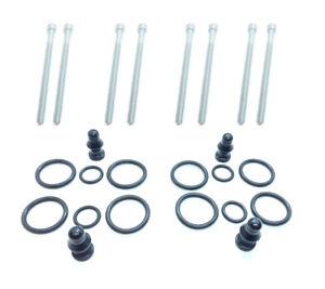 4x NEW INJECTOR SEAL REPAIR KIT + BOLTS FITS AUDI / SEAT / SKODA / VW 1417010996