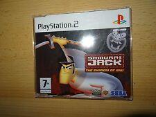samurai jack (PS2) Versión PAL PROMO