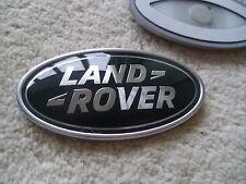 LAND ROVER  DEFENDER OVAL REAR PLASTIC BADGE GENUINE LAND ROVER PART