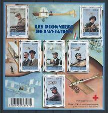 F4504 - FEUILLE DE TIMBRES NEUFS - Les pionniers de l'aviation // 2010
