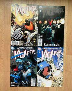Vigilante 1 2 3 4 - High Grade Comic Book - B80-123