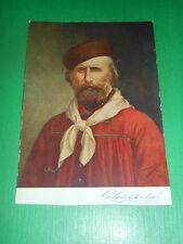 Cartolina Ritratto del Generale Giuseppe Garibaldi ( 1807 - 1882 )