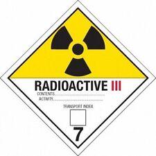 (10) Back to the Future Radioactive Plutonium Case Sticker