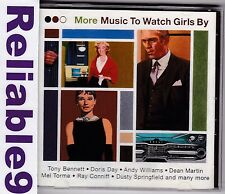 Andy Williams+Doris Day+Ray Conniff- Music to watch Girls by 2CD - 2000 Sony AUS