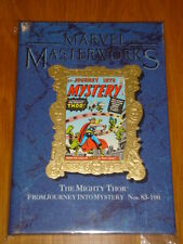 MARVEL MASTERWORKS #18 THOR JOURNEY INTO MYSTERY #83-100 HB GN 0871358077