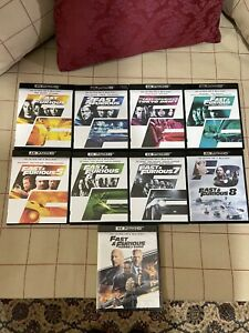 Fast & Furious 4k + Blu Ray Lotto Completo