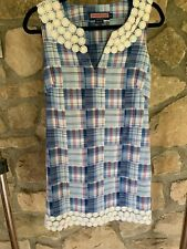 vineyard vines Size 0 Womens vintage shift dress quilted lace