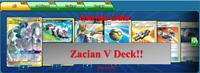 Zacian V ADP Arceus Dialga Palkia Deck Pokemon TCG Online PTCGO Standard Format