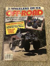 OFF-ROAD MAGAZINE January 1985 - Spiker's Eagle & Chi-Town Hustler - RARE