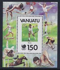 1988 VANUATU OLYMPIC GAMES SEOUL KOREA MINISHEET FINE MINT MNH/MUH