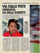 MA130-Clipping-Ritaglio 1989 Florence Griffith