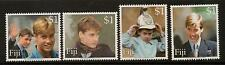 FIJI SG1097/1100 2000 PRINCE WILLIAMS 18th BIRTHDAY MNH
