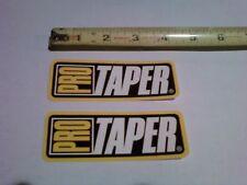 "2 Pro Taper Decals Stickers Fat Bars 1-1/8"" oversized Atv Quad 4x4 Handlebars"
