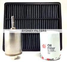 MITSUBISHI MAGNA AIR OIL FUEL FILTER KIT ( TE TF TH TJ TL TW 3L 3.5L 3.0L V6 )