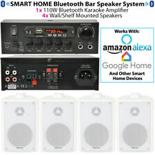 BAR/RISTORANTE Bluetooth Sistema di altoparlanti a muro-Sfondo Wireless Audio Amp Kit