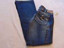 "Silver Jeans Women 30X30 ""Suki Surplus"" Flap Pocket  Curvy Fit Indigo NWT"