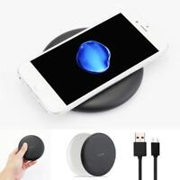 Wireless Phone QI Fast Charger Charging Stand Holder for iPhone 8/8 Plus/X GR