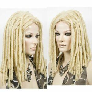 Dreadlocks African Fashion Wig Long Weave Locks Hair Cosplay Costume Blonde Wig
