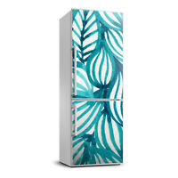 3D Art Refrigerator Wall Kitchen Removable Sticker Magnet Flowers Plants Leaves