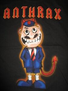 """2013 ANTHRAX """"TNT Anthems"""" Concert Tour (LG) T-Shirt SCOTT IAN"""