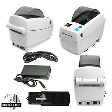 Zebra LP2824 (LP 2824) Direct Thermal Printer, USB Cable