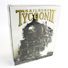 Railroad Tycoon II for PC CD-ROM in Big Box by Gathering, 1998, Sealed, BNIB