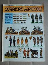 Corriere dei Piccoli n°22 1963 [G750] CON SOLDATINI