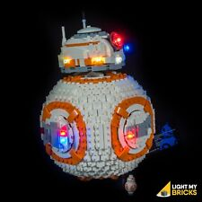 LIGHT MY BRICKS - LED Light kit for LEGO BB8 set 75187