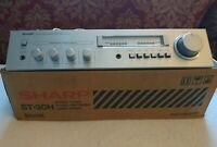 Sharp 1980 Sm-30h Vintage Amplifier Stereo Silver 80's More-See My Listings