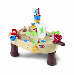 Little Tikes Anchors Away Pirate Ship, Kids Toddler Water Play Activity Table