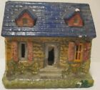 Old Japan Clay Composition Stone House - Building for Christmas Village