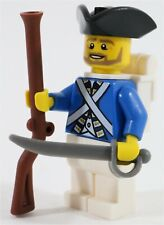LEGO PIRATES IMPERIAL FRENCH ARMY SOLDIER MINIFIGURE - MADE OF GENUINE LEGO